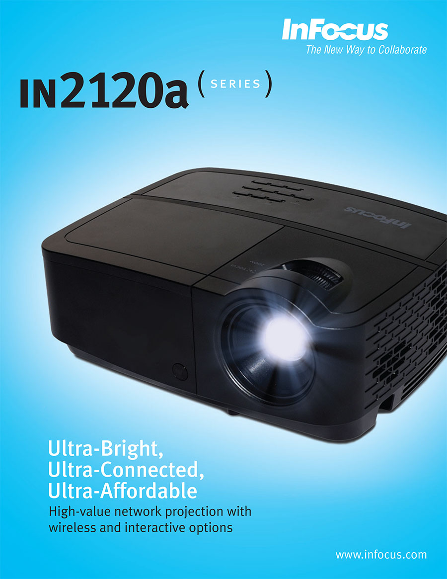 InFocus IN2124a and IN2126a network projectors